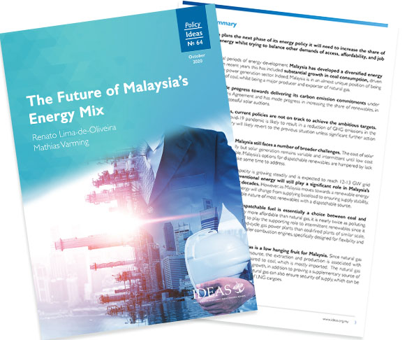 Policy Paper No 64 – The Future of Malaysia's Energy Mix